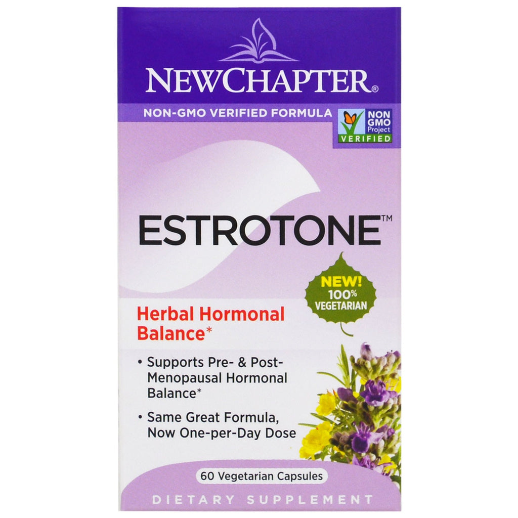 New Chapter, Estrotone, 60 Vegetarian Capsules
