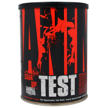 Universal Nutrition, Animal Test, Anabolic Response Amplifier, 21 Packs