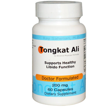 Advance Physician Formulas, Inc., Tongkat Ali, 200 mg, 60 Capsules