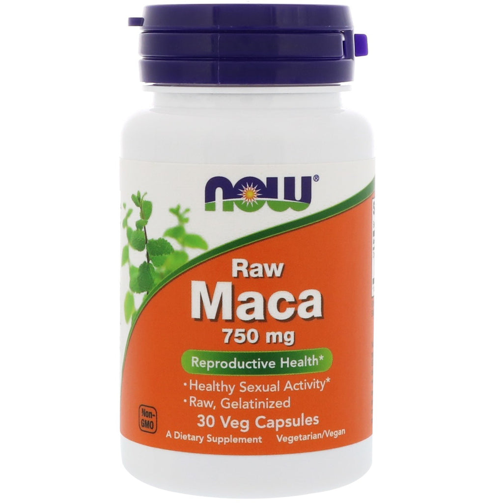 Now Foods, Raw Maca, 750 mg, 30 Veg Capsules
