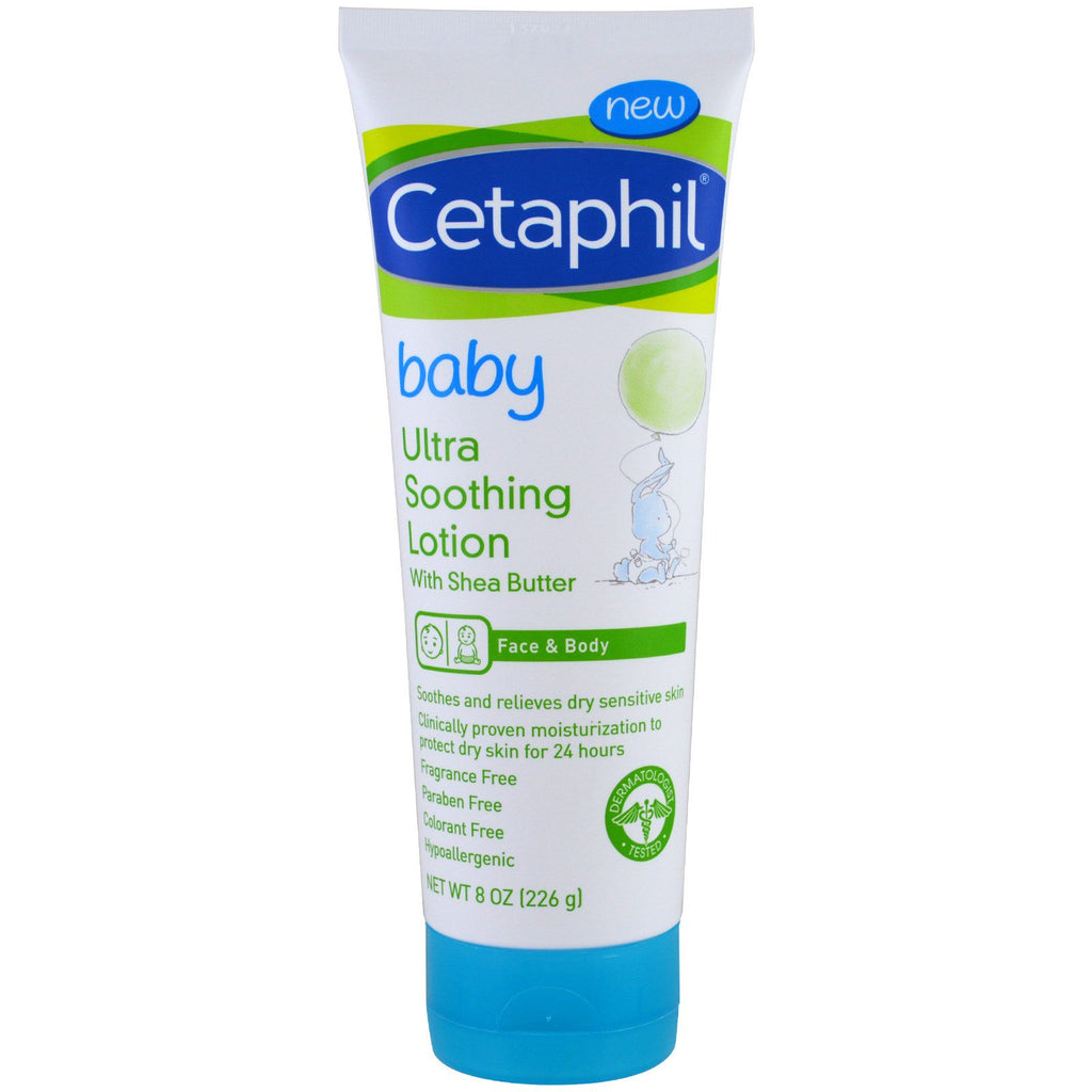 Cetaphil Baby Ultra Soothing Lotion With Shea Butter 8 oz (226 g)