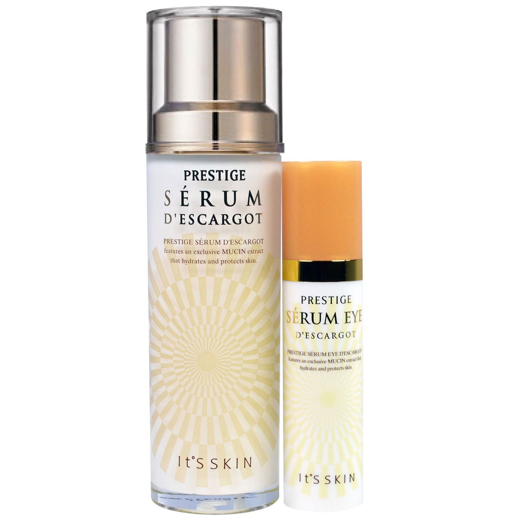 It's Skin, Prestige, Serum D'Escargot, 2 Piece Set, 15 ml + 40 ml