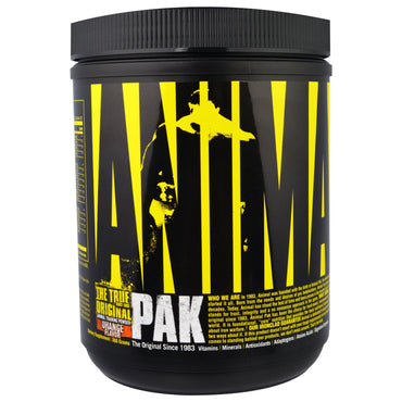 Universal Nutrition, Animal Pak, Animal Training Powder, Orange Flavor, 388 g