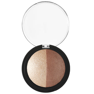 E.L.F. Cosmetics, Baked Highlighter & Bronzer, Bronzed Glow, 0.183 oz (5.2 g)