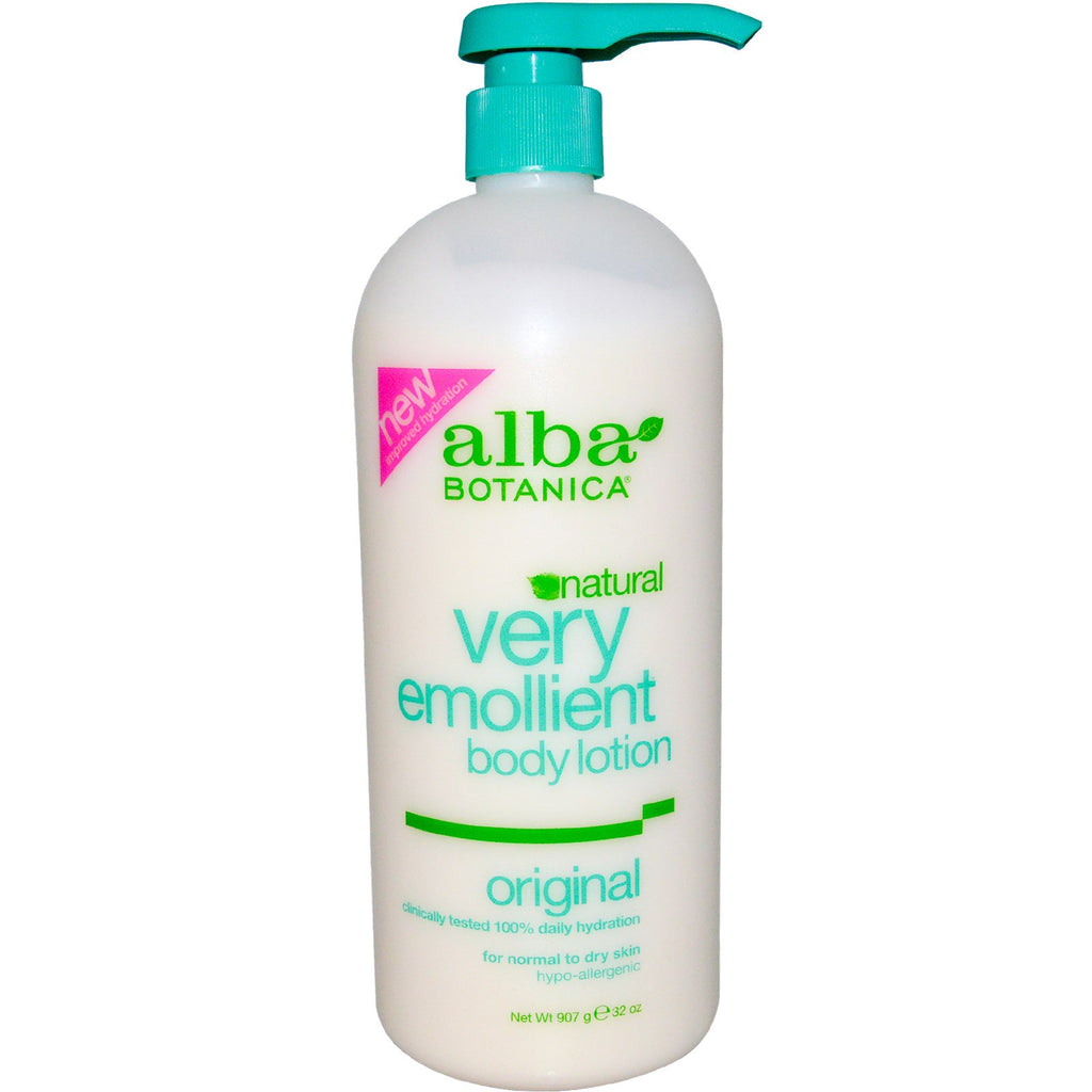 Alba Botanica, Natural Very Emollient, Body Lotion, Original, 32 oz (907 g)