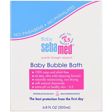 Sebamed USA Baby Bubble Bath 6.8 fl oz (200 ml)