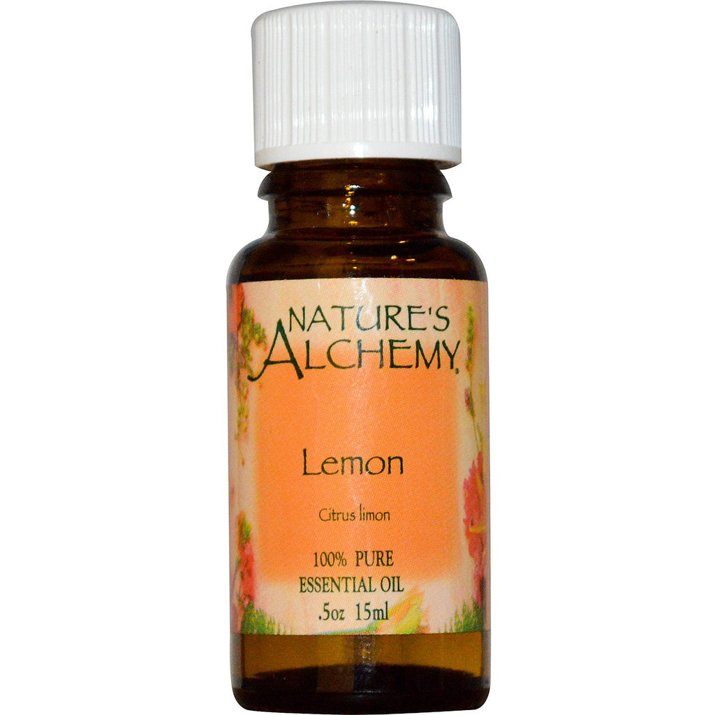 Nature's Alchemy, Essential Oil, Lemon, 0.5 oz (15 ml)