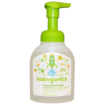 BabyGanics, Foaming Hand Soap, Chamomile Verbena, 8.45 fl oz (250 ml)