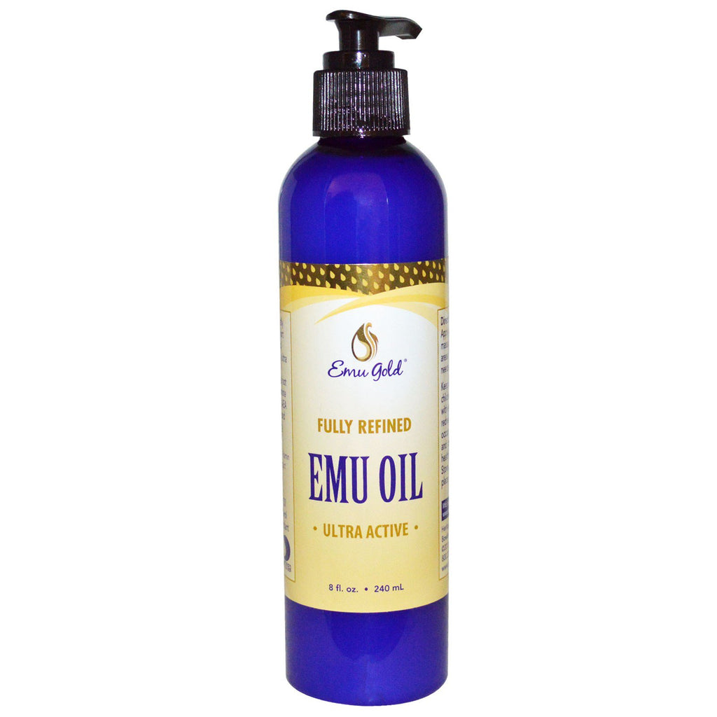 Emu Gold, Emu Oil, Ultra Active, 8 fl oz (240 ml)