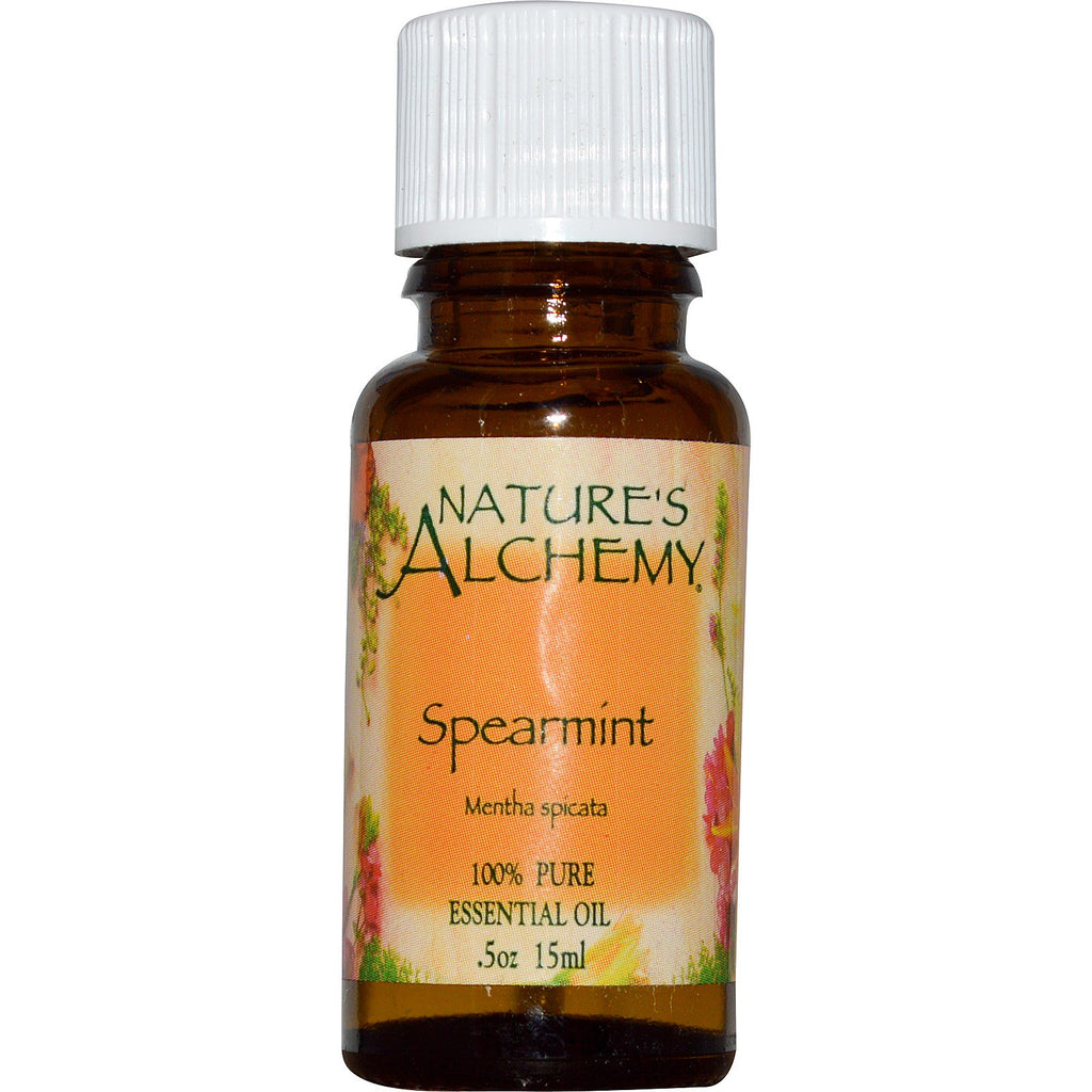 Nature's Alchemy, Spearmint, Essential Oil, .5 oz (15 ml)