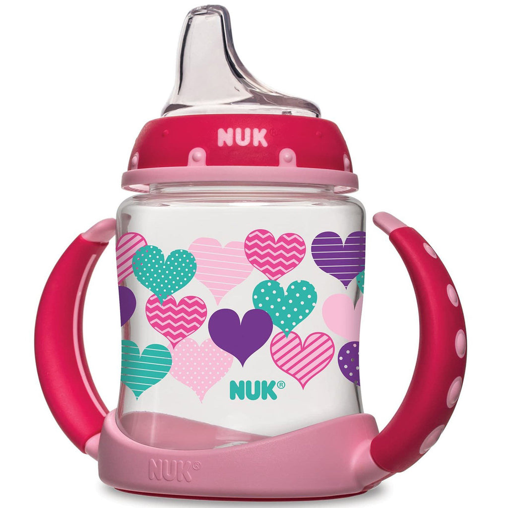 NUK, Learner Cup, 6+ Months, Hearts, 1 Cup, 5 oz (150 ml)