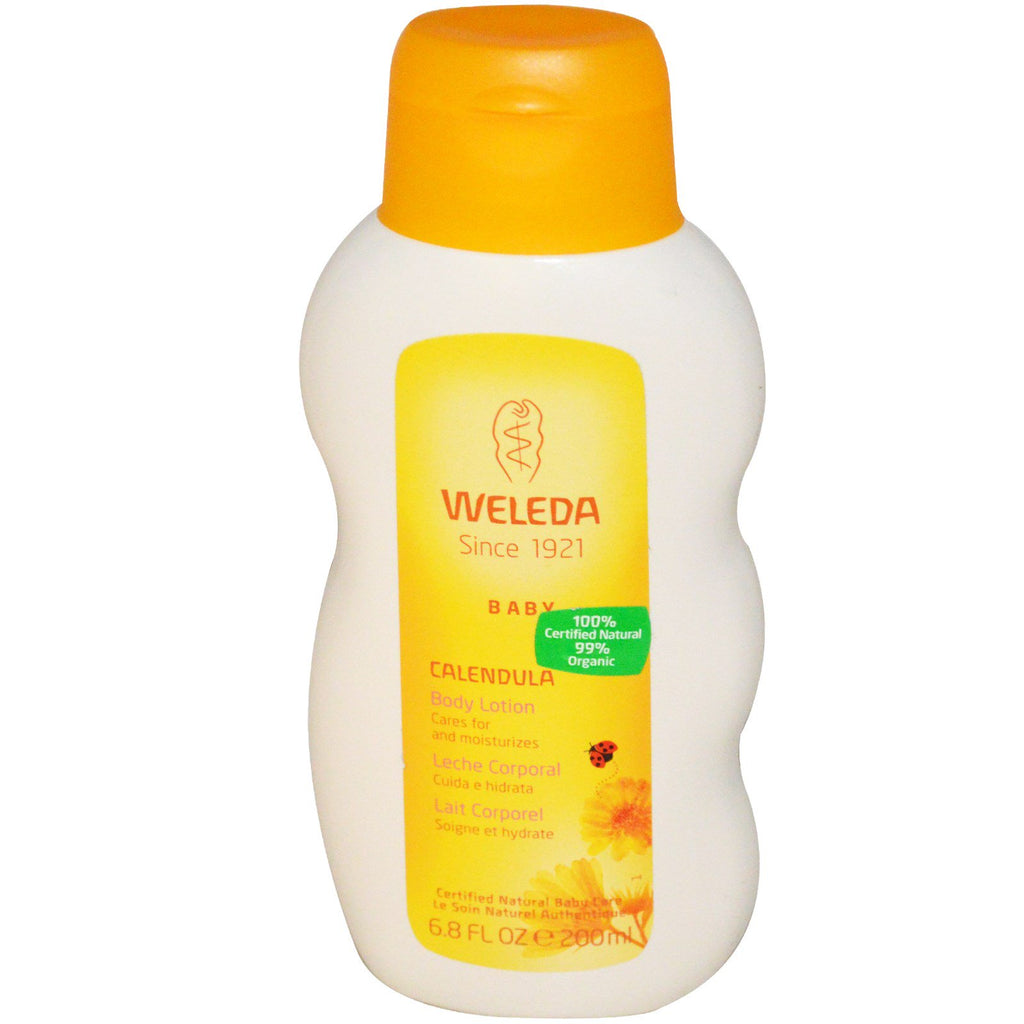 Weleda Baby Body Lotion Calendula 6.8 fl oz (200 ml)