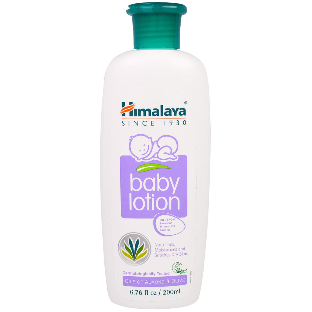 Himalaya Baby Lotion Oils of Almond & Olive 6.76 fl oz (200 ml)