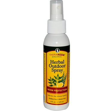 Organix South, TheraNeem Organix, Herbal Outdoor Spray, Neem Protection, 4 fl oz (120 ml)