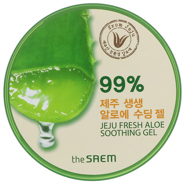 The Saem, Jeju Fresh Aloe Soothing Gel, 10.14 fl oz (300 ml)
