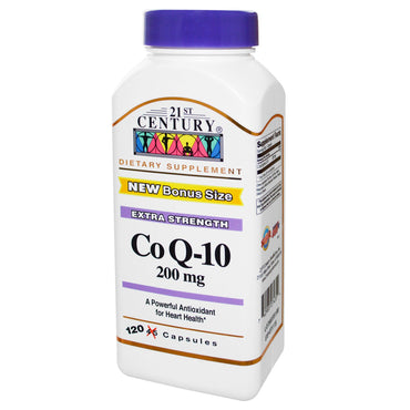 21st Century, Co Q-10, 200 mg, 120 Capsules