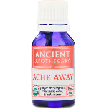 Ancient Apothecary Ache Away .5 oz (15 ml)