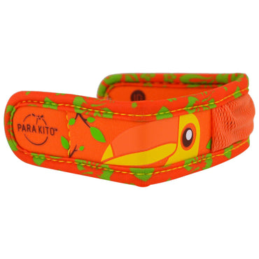 Para'kito, Mosquito Repellent Band + 2 Pellets, Kids, Toucan, 3 Piece Set
