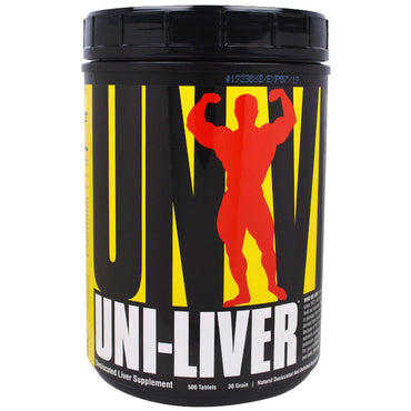 Universal Nutrition, Uni-Liver, Desiccated Liver Supplement, 500 Tablets