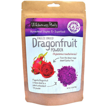 Wilderness Poets, Freeze Dried Dragon Fruit Powder, 3.5 oz (99 g)