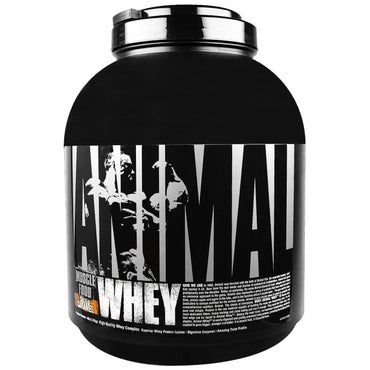 Universal Nutrition, Animal Whey, Muscle Food, Salted Caramel, 4 lbs (1.81 kg)