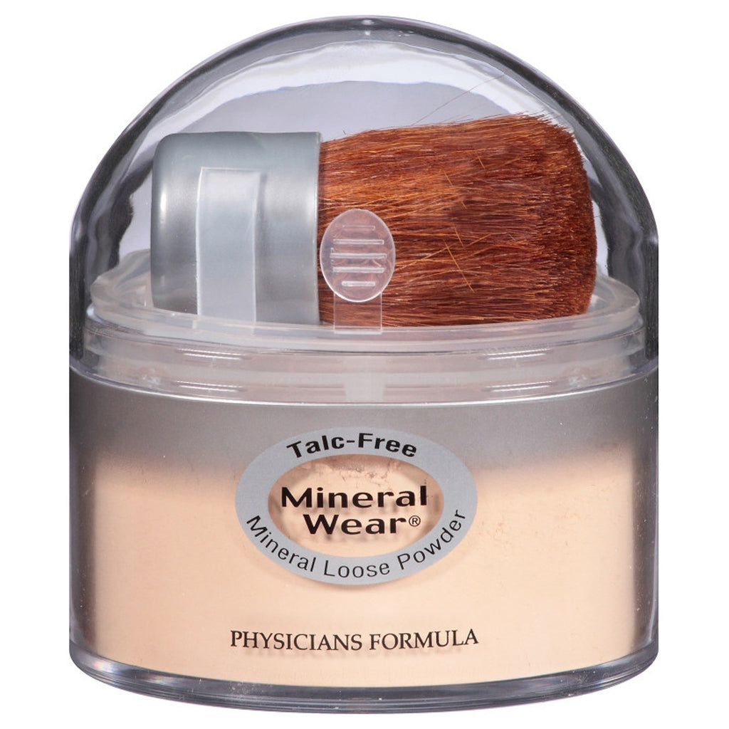 Physician's Formula, Inc., Mineral Wear, Loose Powder, Translucent Medium, SPF 16, 0.49 oz (14 g)