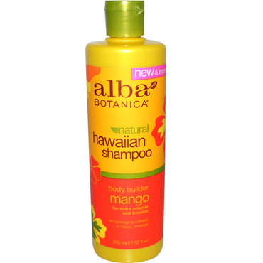 Alba Botanica, Hawaiian Shampoo, Body Builder Mango, 12 fl oz (355 ml)