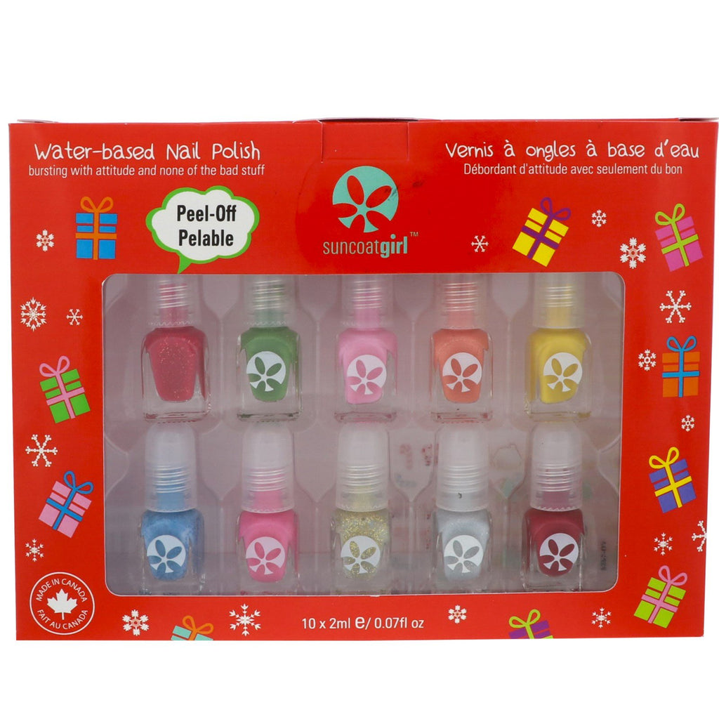 Suncoat Girl Merry Mini Mani Kit 10 Pieces