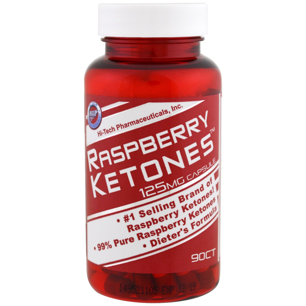 Hi Tech Pharmaceuticals, Raspberry Ketones, 125 mg , 90 Capsules