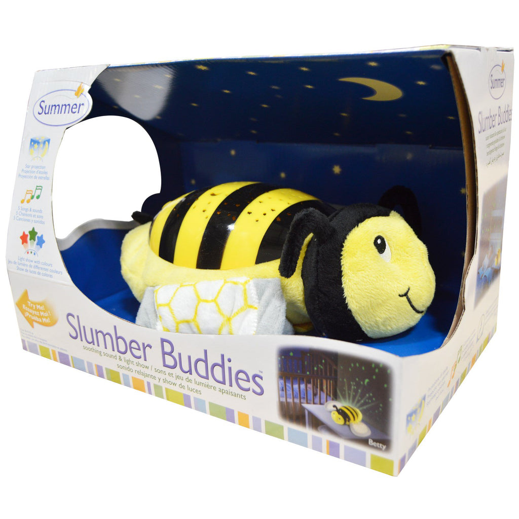 Summer Infant, Slumber Buddies, Bumble Bee Betty, 1 Slumber Buddie