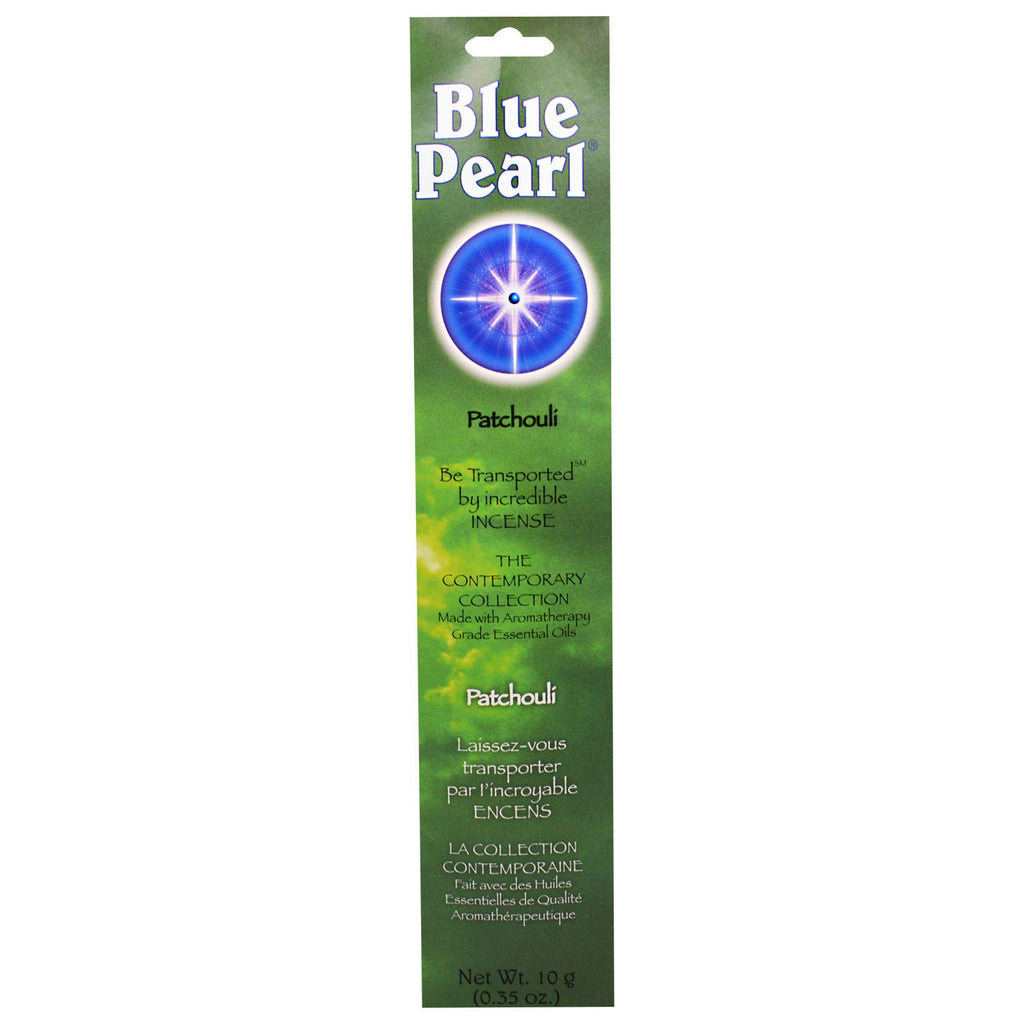 Blue Pearl, The Contemporary Collection, Patchouli Incense, 0.35 oz (10 g)