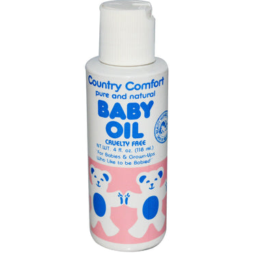 Country Comfort, Baby Oil, 4 fl oz (118 ml)