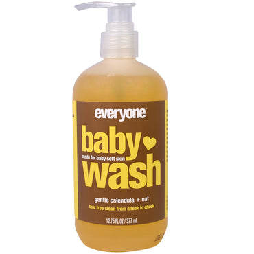Everyone Baby Wash Gentle Calendula + Oat 12.75 fl oz (377 ml)