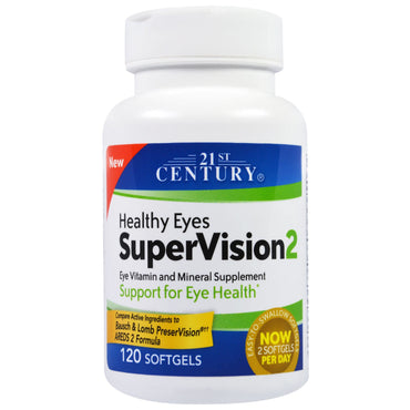 21st Century Healthy Eyes SuperVision2 120 Softgels