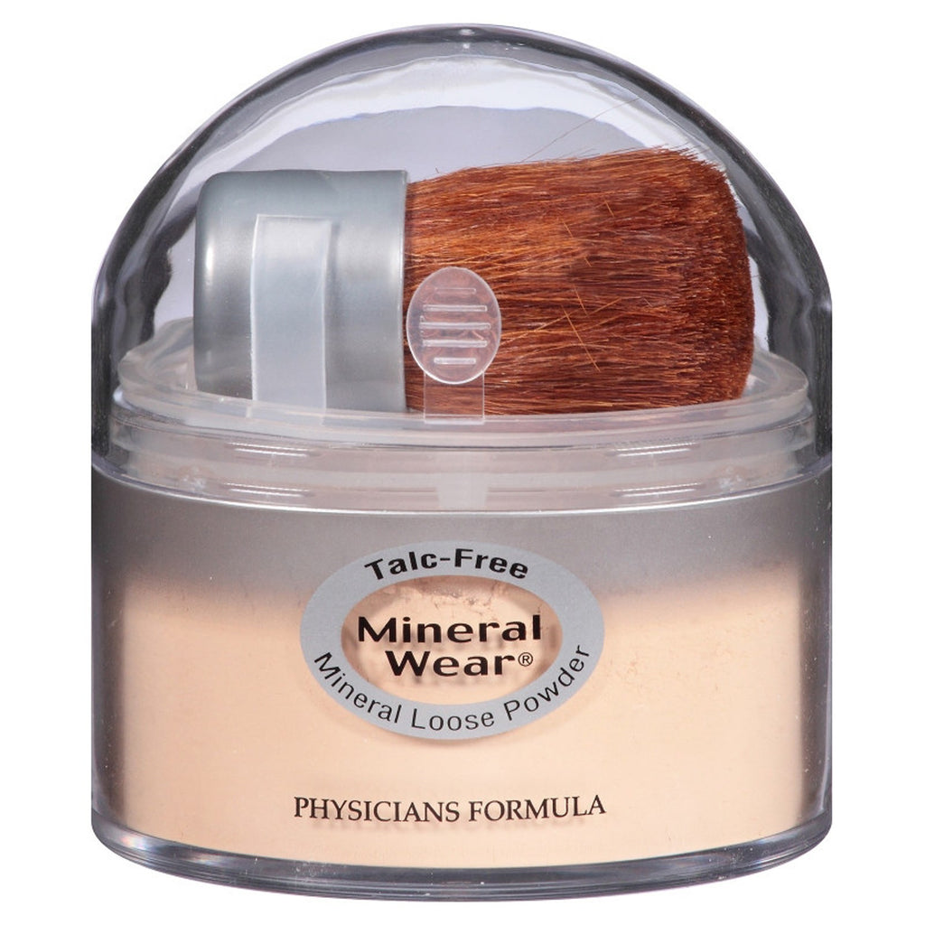 Physician's Formula, Inc., Mineral Wear, Loose Powder, Translucent Light, SPF 16, 0.49 oz (14 g)