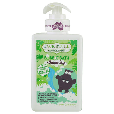 Jack n' Jill Natural Bathtime Bubble Bath Serenity 10.14 fl. oz (300 ml)