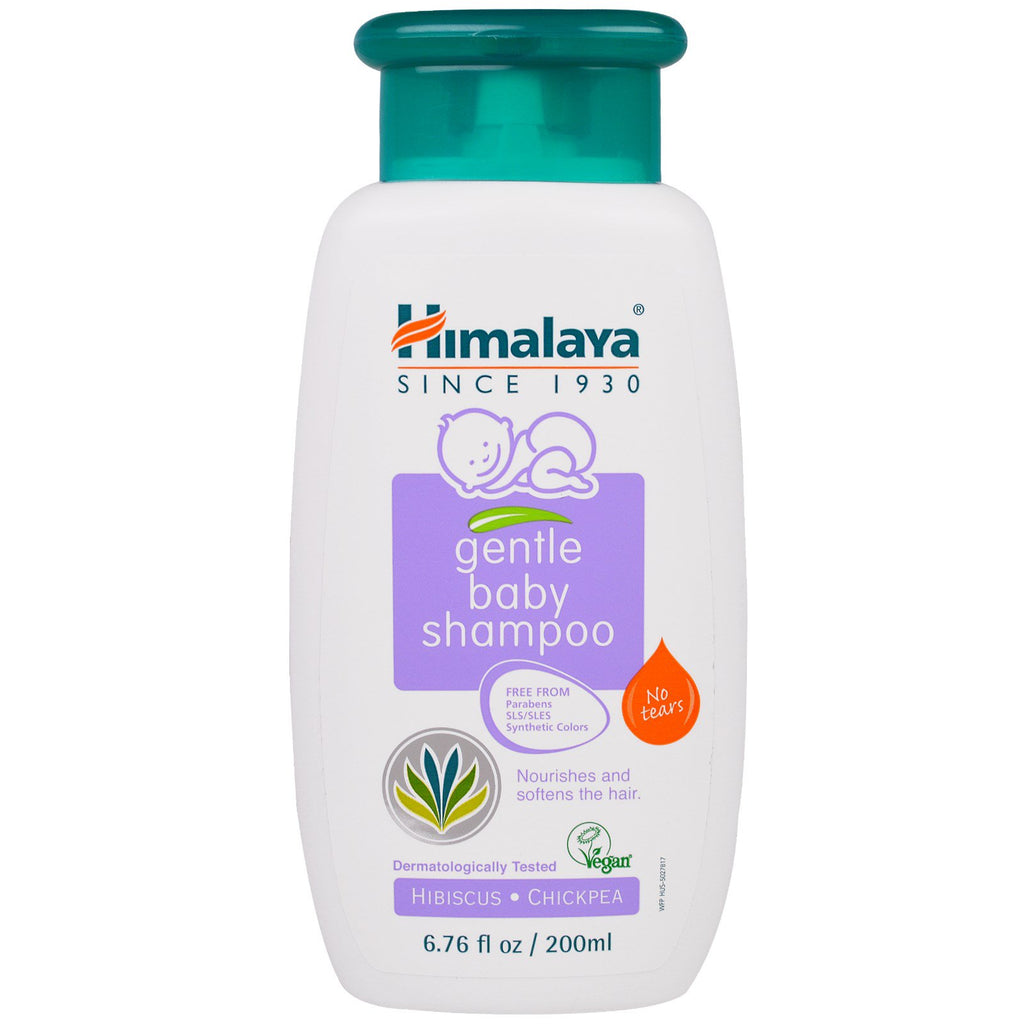 Himalaya Gentle Baby Shampoo Hibiscus and Chickpea 6.76 fl oz (200 ml)