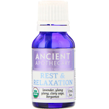 Ancient Apothecary, Rest and Relaxation, .5 oz (15 ml)