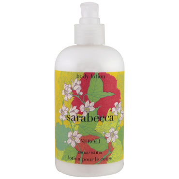 Sarabecca, Body Lotion, Neroli, 9.5 fl oz (280 ml)