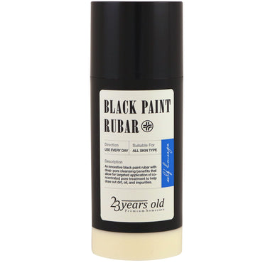 23 Years Old, Black Paint Rubar , 45 g