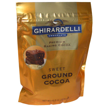Ghirardelli, Premium Baking Cocoa, Sweet Ground Cocoa, 10.5 oz (298 g)