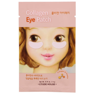 Etude House, Collagen Eye Patch, 2 Patches, 0.14 oz (4 g)