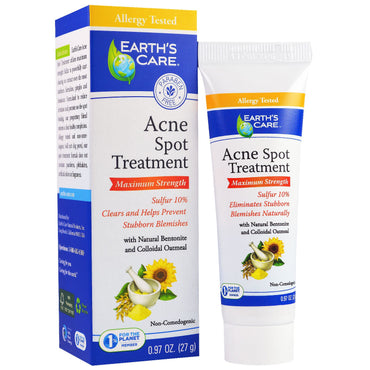 Earth's Care, Acne Spot Treatment, Maximum Strength, 0.97 oz (27 g)