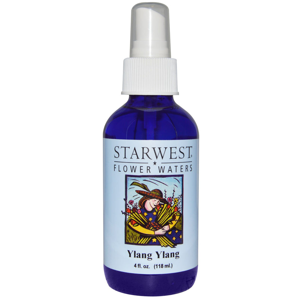 Starwest Botanicals, Flower Waters, Ylang Ylang, 4 fl oz (118 ml)