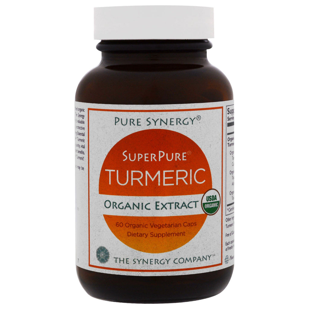 The Synergy Company, Organic SuperPure Turmeric Extract, 60 Organic Veggie Caps