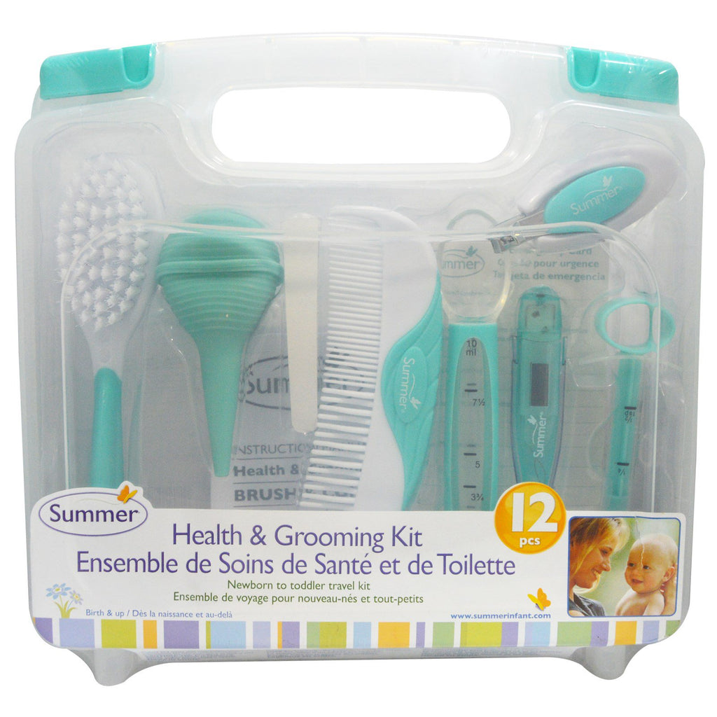 Summer Infant Health & Grooming Kit 12 Piece Kit
