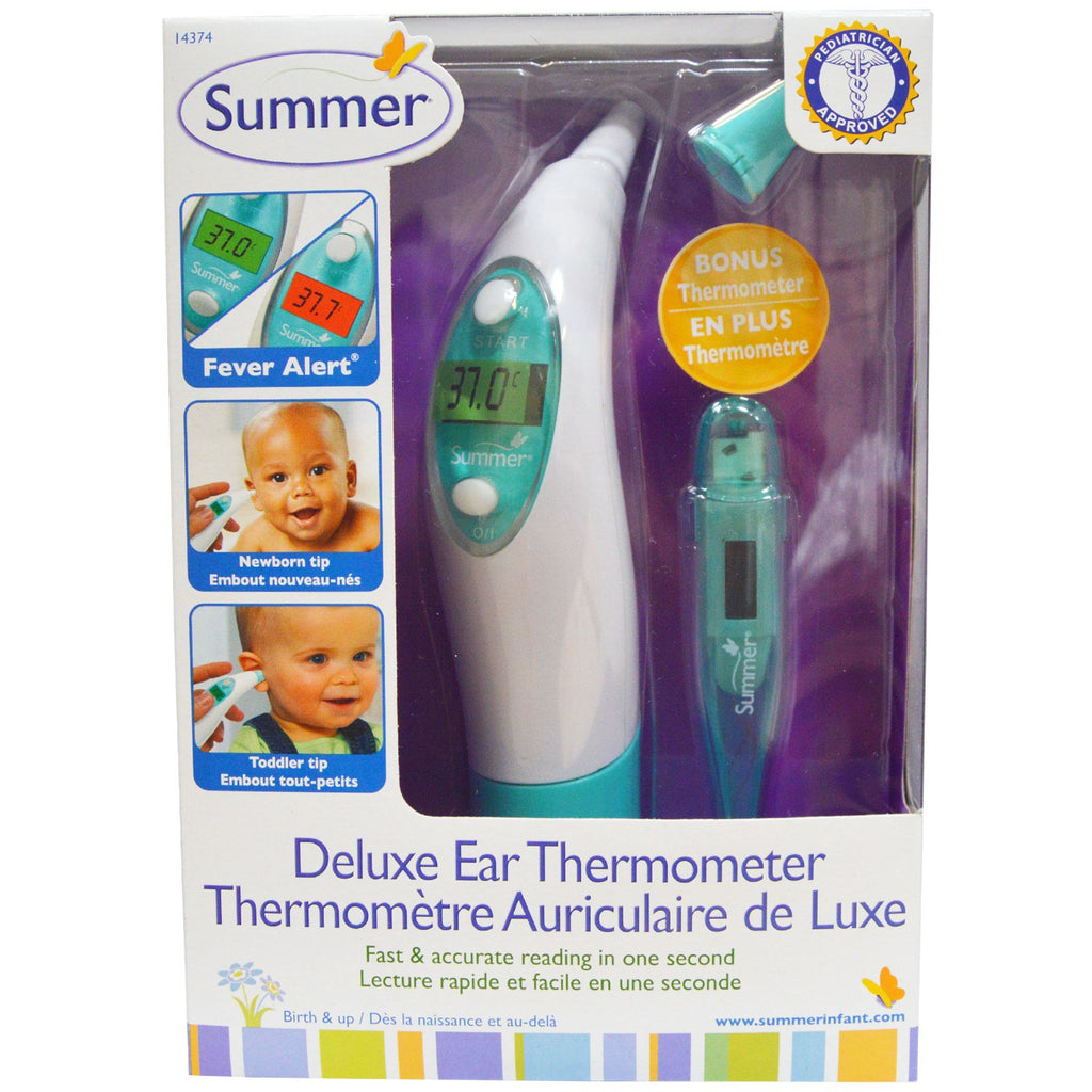 Summer Infant, Deluxe Ear Thermometer