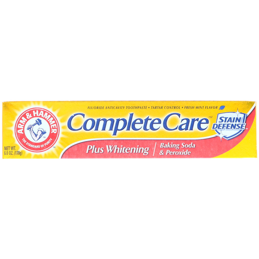 Arm & Hammer, CompleteCare Toothpaste, Fresh Mint, 6.0 oz (170 g)