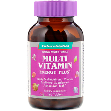 FutureBiotics, Advanced Woman's Formula, Multi Vitamin Energy Plus, 120 Tablets