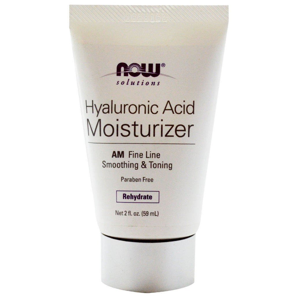 Now Foods, Solutions, Hyaluronic Acid Moisturizer, 2 fl oz (59 ml)